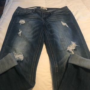 Dollhouse Roll up Skinny Jeans